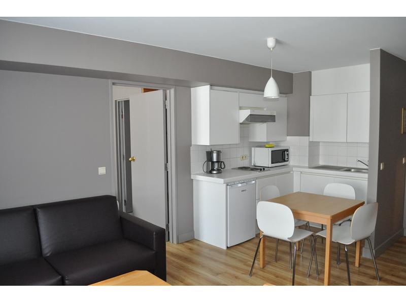 Living studio Liberty hotel Blankenberge